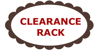 Blog Tag Clearance Rack