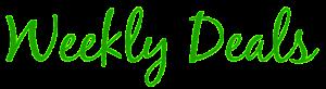 Blog Tag Weekly Deals